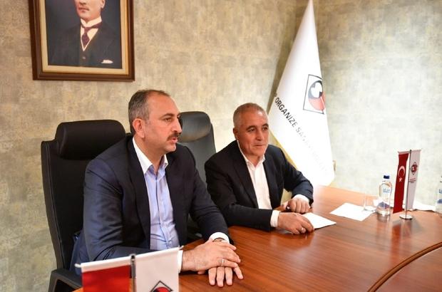 """Bakan Gül'den OSB'ye hayırlı olsun ziyareti Gül, """"OSB'nin standartlarını yükseltmeye çalışıyoruz"""""""