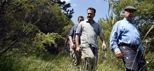 """8 kilometrelik sarp kayalıklı yolu 3 saatte tamamladılar Bilecik Valisi Bilal Şentürk; """"Bilecik'in güzellikleri saymakla bitmiyor"""""""