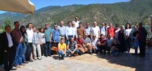 Gazeteciler cemiyet üyeleri Oğuzlar Altınkoz'da buluştu