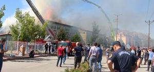 Konya'daki silah fabrikasındaki yangın söndürüldü Konya'da silah fabrikasında çıkan yangın 55 adet söndürme aracı 2 adet helikopter ve 100'un üzerinde personelle öğle saatlerinde kontrol altına alındı