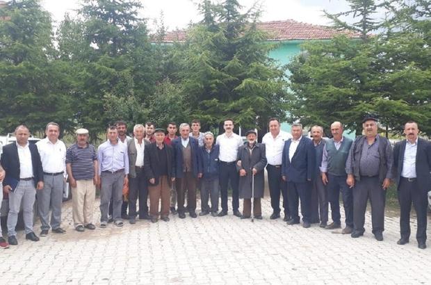 Çavdarhisar Kaymakamı Akbulut Emniyet binası ve köylerde incelemelerde bulundu