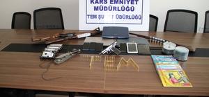 Kars'ta terör operasyonu: 3 kişi tutuklandı