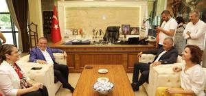 Başkan Böcek Manavgat'ı ziyaret etti