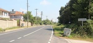 Söğütlü'de asfalt yenileme çalışmaları tamamlandı