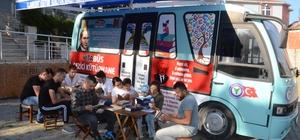 Bu minibüs, kitap sevgisi aşılayacak Ordu'da hayata geçirilen 'Kitabüs' ilçeleri dolaşarak, öğrencileri kitap ile buluşturacak