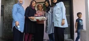 Güroymaklı kadınlardan genç kızlara çeyiz desteği
