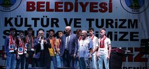 Başkan Büyükkılıç, Özvatan ilçesinde gerçekleştirilen festivale katıldı