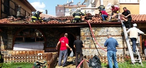 Seydişehir Adile Baysal Kültür Evi mutfağında yangın