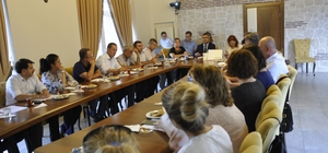 Tarımsal Yayım ve Danışmanlık Hizmetlerinin Güçlendirilmesi projesi Saha çalışması için seçilen Eskişehir'de İl Teknik Komite Toplantısı yapıldı