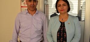 """Şevkin: """"Şehrimizin menfaati için siyasi kaygılarımızı bir kenara bırakmalıyız"""" CHP Adana Milletvekili Müzeyyen Şevkin İhlas Haber Ajansı Adana Bölge Müdürlüğünü ziyaret etti"""