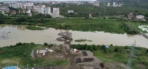 Melet'e yeni köprü İnşaatına başlanan yeni köprü çevre yoluna bağlanacak