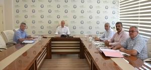 Salihli OSB yönetimi toplandı