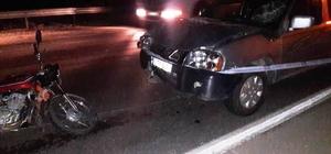 Manisa'da trafik kazası: 1 ölü Motosiklete çarptı, aracını bırakıp kaçtı