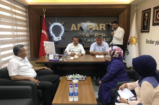 AK Partili Kırkpınar, halk gününde vatandaşlarla buluştu