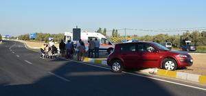 Tatil yolunda kazalar başladı Balıkesir'de trafik kazası: 5 yaralı