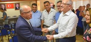MHP'li Başkan, AK Partililerle bayramlaştı