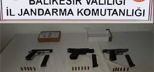 Kepsut'ta silah operasyonu