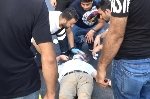 Diyarbakır'da akıl almaz kaza Yolun karşısına geçerken bir aracın çarpması sonucu savrulan adam, yoldan geçen otobüse çarpıp ağır yaralandı