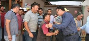 Başkan Öküzcüoğlu personeliyle bayramlaştı