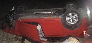 Malkara'da otomobil takla attı: 2 yaralı