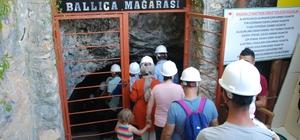 3.4 milyon yıllık Ballıca Mağarası'na ziyaretçi akını