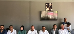 AK Parti ilçe ve belde teşkilatlarında bayramlaştı