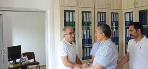 Başkan Tutal, personelle  bayramlaştı