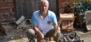 Emekli postacı baba mesleğini yaşatmaya çalışıyor Yusuf Aydın'ın yaptığı tahta kaşıklar ilgi görüyor