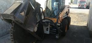 İş makinası çalan şüpheliler yakalandı Eskişehir'de 400 bin liralık hırsız