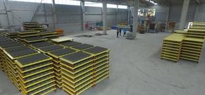 Manisa Büyükşehir'in fabrikası parke taşı üretimini arttırdı