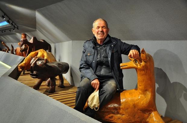 Türkiye'nin en ilginç müzelerinden biri Uzungöl'de açıldı Uzungöl'de turizmci Dursun Ali İnan tarafından ilginç taşlar ve ağaç köklerinden yapılan hayvan figürleri ile tarihi eserlerin yer aldığı 'Dursun Ali İnan müzesi' ziyarete açıldı