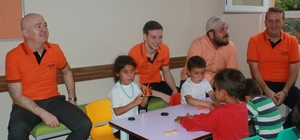 Bu proje ile aileler fındık, çocuklar kalem tutuyor