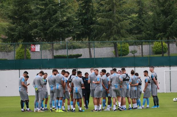 Trabzonspor, Kasımpaşa maçı hazırlıklarına başladı Bordo-mavilileri kritik 15 gün bekliyor
