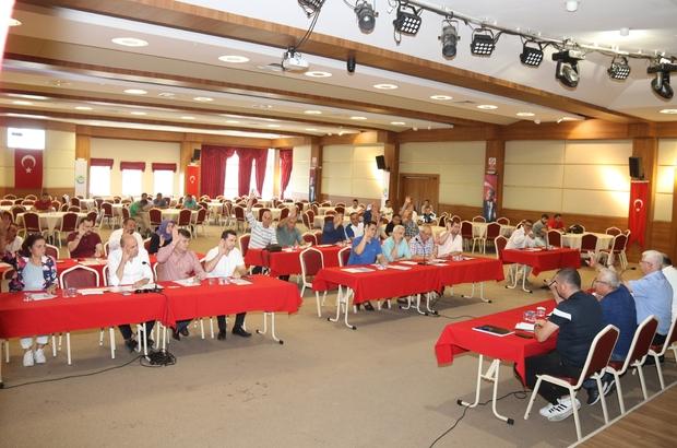 Ergene Belediyesi olağanüstü meclis toplantısı yapıldı