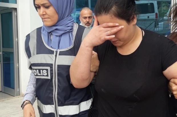 Suç makinesi kadın mangal başında parmak arası terlikleriyle yakalandı 48 yıl hapis cezası olan kadın mangal başında yakalandı