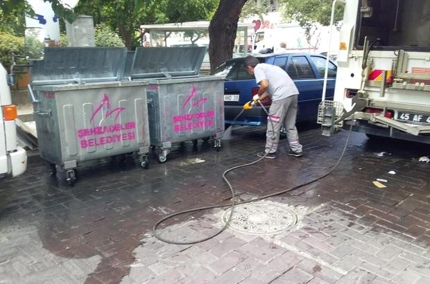 Şehzadeler'de temizlik seferberliği