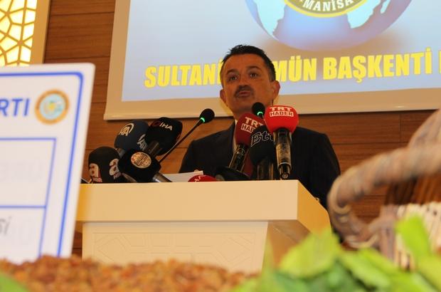 Tarım ve Orman Bakanı Bekir Pakdemirli,üzüm rekoltesini ile ilgili görsel sonucu