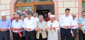 Kaş Gömüce Mahalle Camisi ibadete açıldı