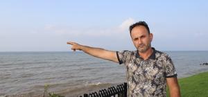 Karadenizlinin fındığını Karadeniz yuttu Denizde fındık adacıkları oluştu