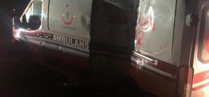 Ağrı 112 Acil ekibi görev dönüşü kaza yaptı