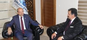 """KKTC Başbakanı Tatar: """"KKTC, Türkiye Cumhuriyetinin desteğiyle bugünlere geldi"""" KKTC Başbakanı Ersin Tatar, Konya'nın Cihanbeyli ilçesini ziyaret etti"""