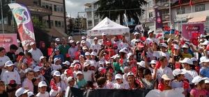 Almus'ta herkes için spor günü düzenlendi