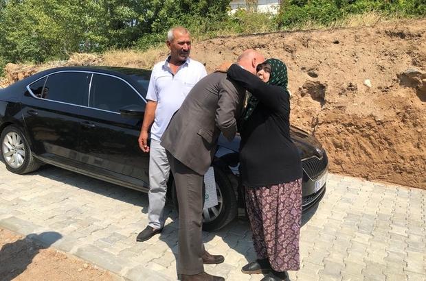 Manisa Büyükşehir'den şehit ailesine ziyaret