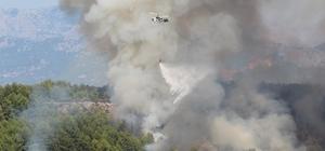 Antalya'da antik kent yakınında orman yangını Aksu ilçesinde Perge Antik Kenti yakınında çıkan orman yangını güçlükle söndürüldü