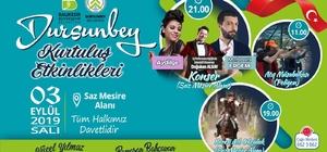 Dursunbey'de 3 Eylül Dolu Dizgin Geçecek