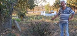 Mezarlıktaki define kazısı 2 yıl önce yapılmış