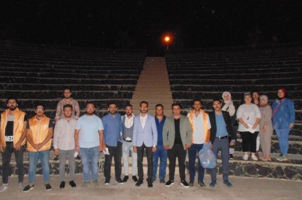 AK Parti'li gençlerden çevre temizliği