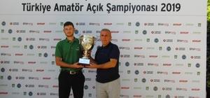 Spor Toto Türkiye Amatör Açık Şampiyonası sona erdi