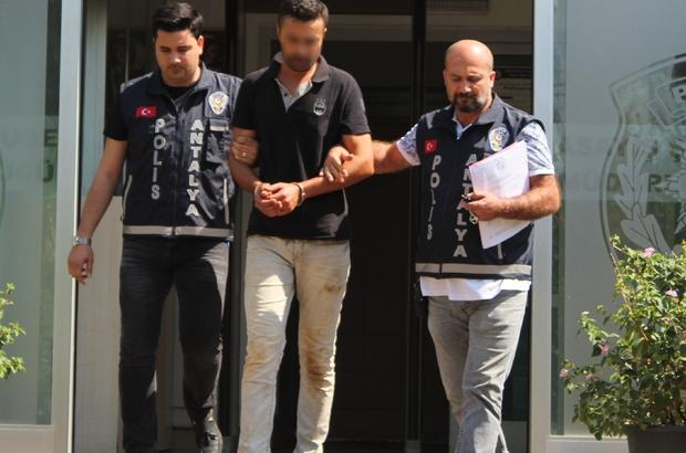 Antalya'da Ukrayna uyruklu kadının ölümü Kadının ölümüyle ilgili gözaltına alınan şüpheli adliyeye sevk edildi
