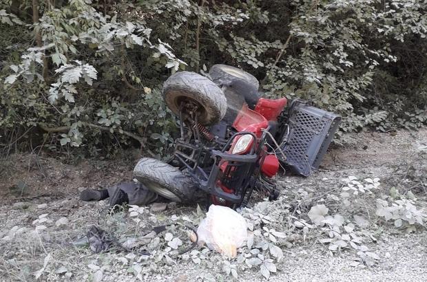 Kastamonu'da ATV devrildi: 1 ölü